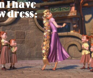 disney, dress, and funny image