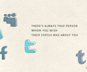facebook, status, and twitter image