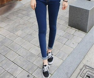 jeans, legs, and skinny image