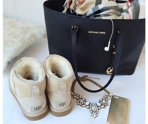 ugg, Michael Kors, and bag image