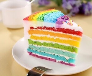 food, cake, and colorful image