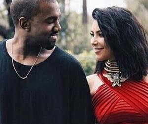 grammys, kanye west, and kim kardashian image