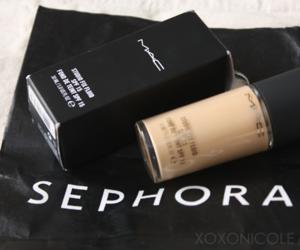 mac, make up, and sephora image