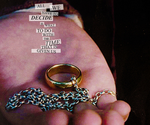 LOTR, quote, and ring image
