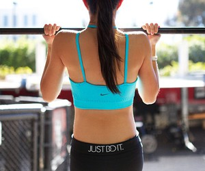 nike, fit, and sport image