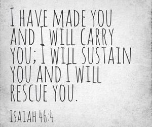 god, quote, and rescue image