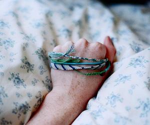hand, bracelet, and vintage image