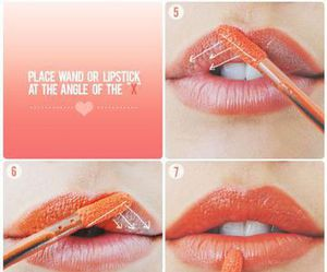lips, makeup, and tutorial image