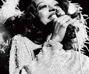terry o'neill, concert, and Diana Ross image