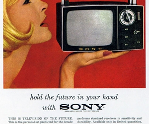 sony and tv image
