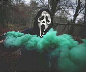 green, grunge, and scream image