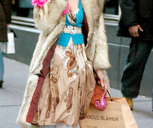 fashion, sex and the city, and Carrie Bradshaw image