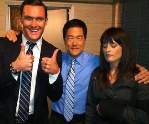 the mentalist, robin tunney, and owain yeoman image