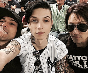 black veil brides, andy biersack, and christian coma image