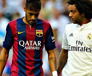 neymar, marcelo, and Barcelona image