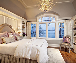 bedroom, house, and room image