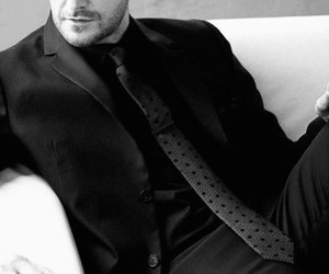 actor, black and white, and richard armitage image
