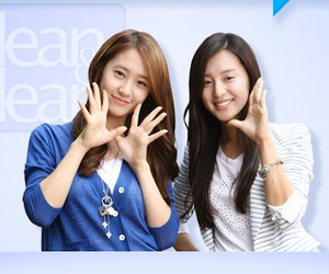 clean and clear and krystal and kim ji-won image