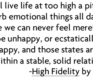 quotes and high fidelity image