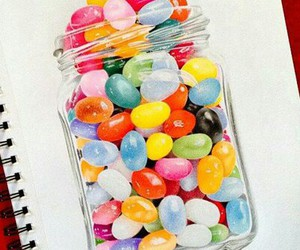 candy jelly beans drew image