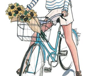 drawing and bike image