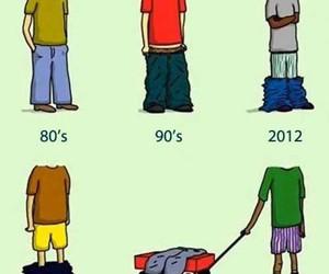 funny, pants, and boy image