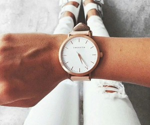 clothes, luxury, and watch image