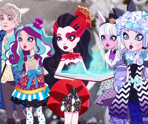 eah, ever after high, and spring unsprung image
