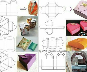 diy, box, and present image