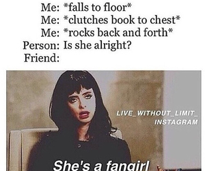 fandom, fangirl, and fangirling image