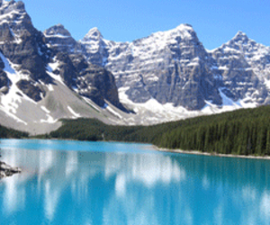 mountains and canada image