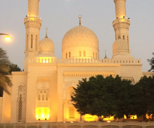 Dubai and mosquee image