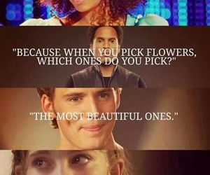 rue, prim, and hunger games image
