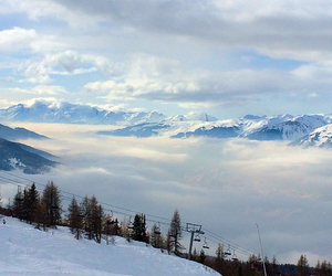 Alps, cloud, and cold image