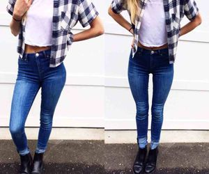jeans and fashion image