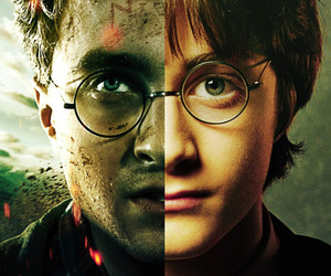 before and after, daniel radcliffe, and harrypotter image
