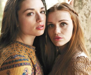 holland roden, teen wolf, and crystal reed image