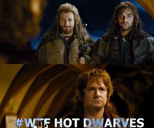bilbo, dwarves, and Hot image