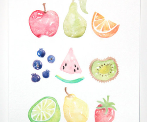 art and fruit image