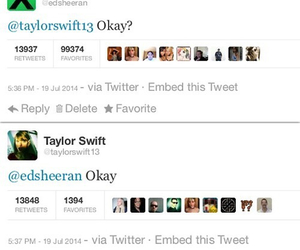 Taylor Swift and ed sheeran image
