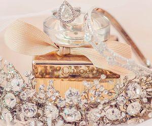 chloe, diamonds, and perfume image