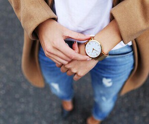 clothes, nails, and style image