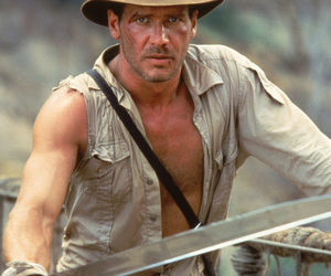 harrison ford, hero, and Indiana Jones image