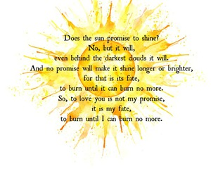 burn, promise, and quotes image
