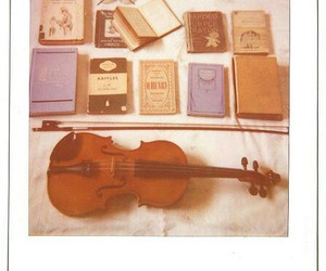 book and violin image