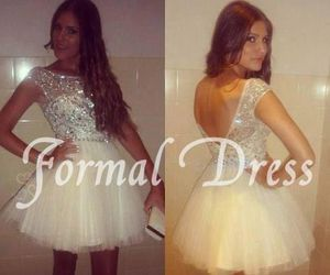 dress, dresses, and Prom image