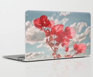 flower prints, laptopskins, and cute laptopskins image