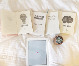 book, hipster, and ipad image