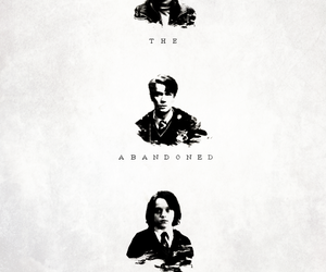 harry potter, severus snape, and tom riddle image