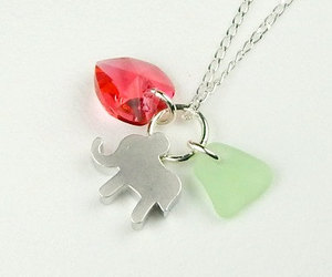 adorable, jewelry, and sea glass image